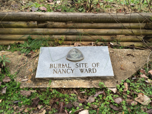 NancyWardBurialMarker